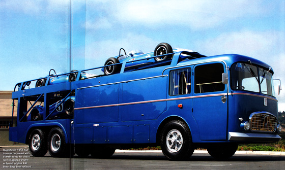Beautifully restored ex-Maserati ex-Shelby Transporter